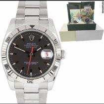 Rolex Datejust Turn-O-Graph occasion 36mm Blanc Date Acier