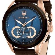Maserati Steel 45mm Quartz R8871612024 new