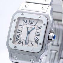 Cartier Santos Galbée Stahl 29mm Weiß Römisch Deutschland, Hamburg