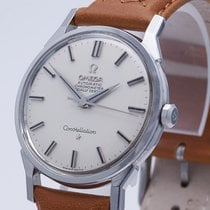 Omega Constellation Acero 34mm Plata