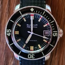 Blancpain Fifty Fathoms Acier Noir France, Elne