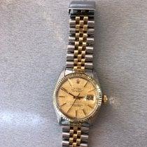 Rolex 16013 Or/Acier 1982 Datejust 36mm occasion France, Six fours