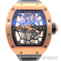 Richard Mille Rose gold Manual winding Transparent No numerals 48mm new RM 035