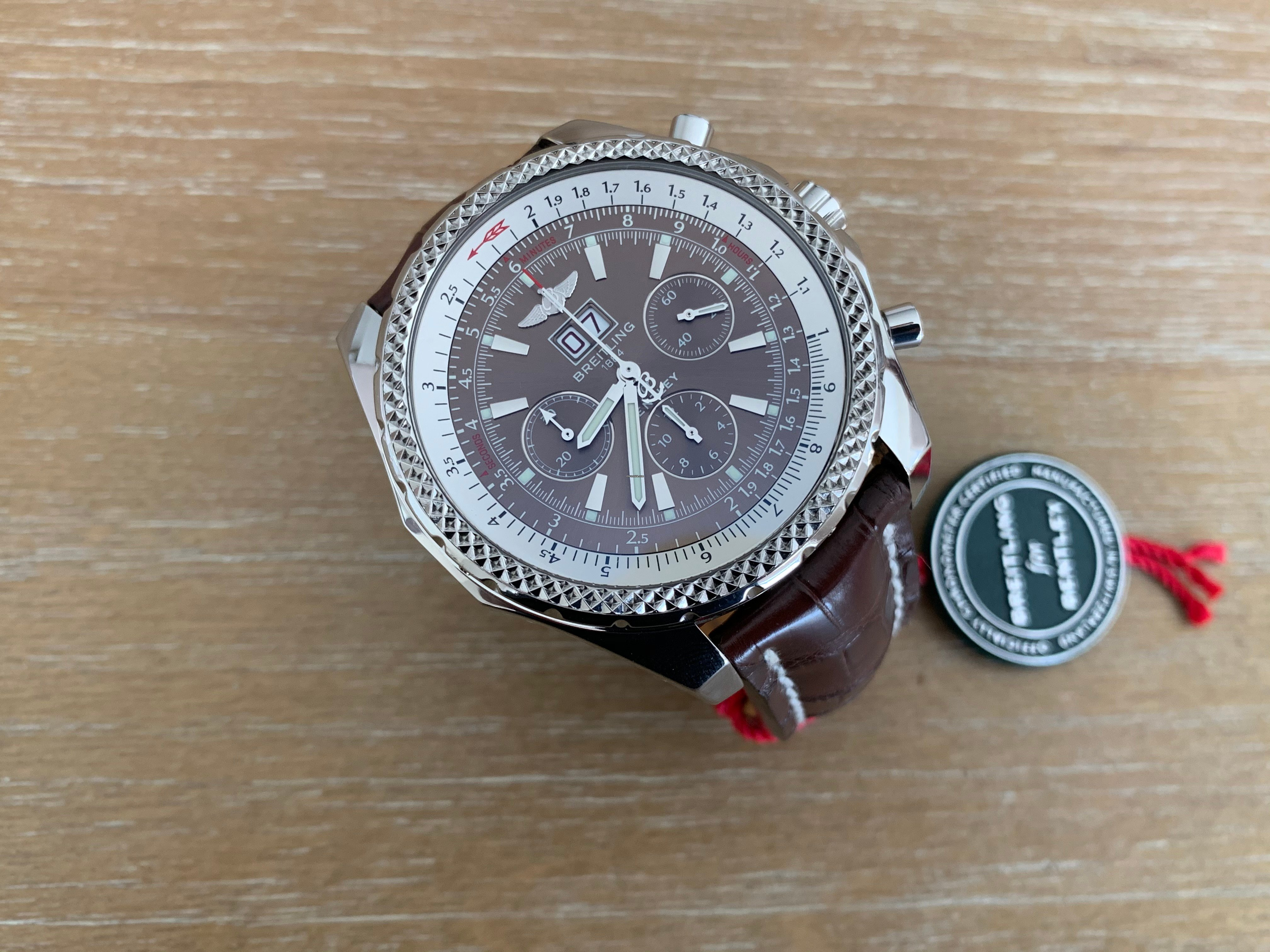 Breitling Bentley 6 75 For Au 7 516 For Sale From A Trusted Seller On Chrono24