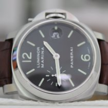 Panerai Luminor Marina Automatic Steel 40mm Black United States of America, New York, New York
