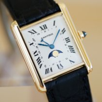 Cartier (カルティエ) タンク ルイ カルティエ イエローゴールド 23mm ホワイト ローマインデックス 日本, KOBE