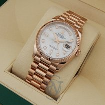 Rolex Day-Date 36 Rose gold 36mm Mother of pearl No numerals United States of America, New York, New York