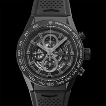 TAG Heuer Carrera Calibre HEUER 01 Ceramic 45mm Black United States of America, California, Burlingame