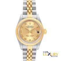 Rolex Lady-Datejust Steel 26mmmm Champagne Roman numerals United States of America, New York, New York