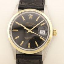 Rolex Oyster Perpetual Date Gold/Stahl 34mm Schwarz Deutschland, MÜNCHEN