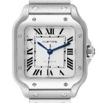 Cartier Santos Galbée new 2018 Automatic Watch with original box and original papers WSSA0010