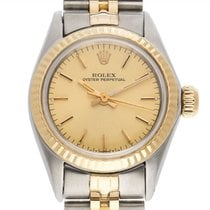 Rolex Oyster Perpetual 26 Steel 24mm Champagne
