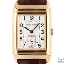 Jaeger-LeCoultre Reverso Grande Taille Yellow gold 42mm Silver Arabic numerals