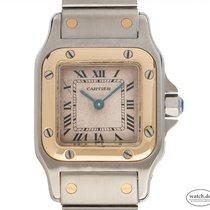 Cartier Santos Galbée Gold/Stahl 35mm Römisch Deutschland, Stuttgart