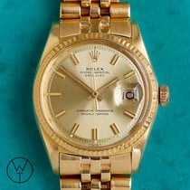 Rolex Yellow gold Automatic 36mm pre-owned Datejust