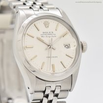 Rolex Air King Date Steel 35mm No numerals