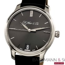 H.Moser & Cie. Platinum Manual winding Grey No numerals 40.8mm pre-owned Endeavour