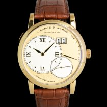 A. Lange & Söhne Yellow gold Manual winding Gold 42mm pre-owned Grand Lange 1
