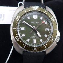 精工 Prospex 鋼 42.7mm 綠色 無數字