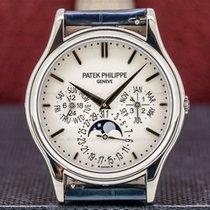 Patek Philippe Perpetual Calendar White gold 37.2mm Silver Arabic numerals United States of America, Massachusetts, Boston