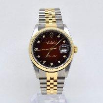 Rolex Datejust Steel 36mm Red No numerals United Kingdom, Watford