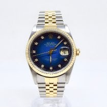 Rolex Datejust 16233 Very good Gold/Steel 36mm Automatic United Kingdom, Watford