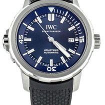 IWC Aquatimer Automatic Сталь 42mm Синий