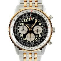 Breitling Gold/Steel 41.5mm Automatic D22322 pre-owned