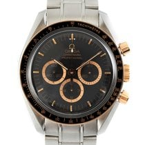 Omega Speedmaster Professional Moonwatch Or/Acier 42mm Noir
