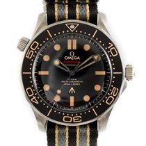 Omega Titanium Automatic Black 42mm new Seamaster Diver 300 M