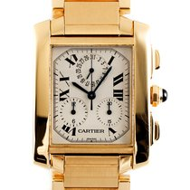 Cartier Yellow gold 28.5mm Quartz 1830 pre-owned