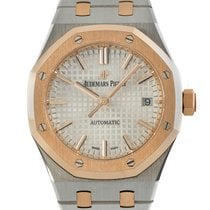 Audemars Piguet Royal Oak Selfwinding Acero y oro 37mm Plata
