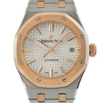 Audemars Piguet Gold/Steel 37mm Automatic 15450SR.OO.1256SR.01 new