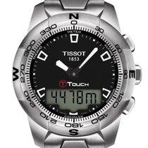 Tissot T-Touch II Staal 43mm Zwart