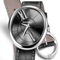 Eberhard & Co. Gilda Steel 32.1mm Black Roman numerals