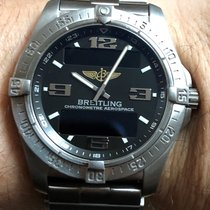 Breitling Aerospace Avantage Titan 42mm Schwarz