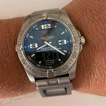 Breitling Титан Кварцевые Черный 42mm подержанные Aerospace Avantage