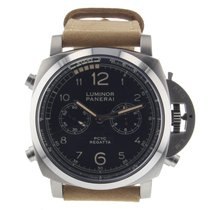 Panerai PAM00652 Titanio Luminor 1950 Regatta 3 Days Chrono Flyback 47mm nuevo