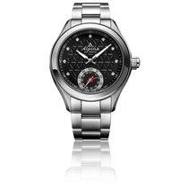 Alpina Horological Smartwatch Acero 39mm Negro Arábigos