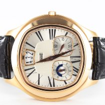 Piaget Emperador pre-owned 42mm Silver Leather