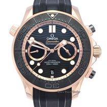 Omega Seamaster Diver 300 M Rose gold 44mm Black No numerals United Kingdom, Manchester