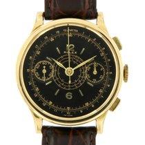 Rolex Chronograph Gelbgold 36mm Schwarz