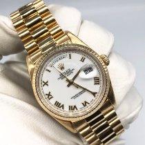 Rolex Day-Date 36 Or jaune 36mm Bronze Sans chiffres