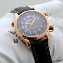 Jaeger-LeCoultre Master Memovox Oro rosa 41mm Gris Sin cifras