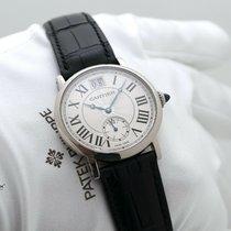 Cartier Rotonde de Cartier Or blanc 35mm Argent