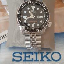 Seiko Prospex Acier 43mm Noir Sans chiffres France, Lyon, No duties and taxes to pay