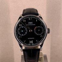 IWC Portuguese Automatic Acier 42mm Noir Arabes France, Paris