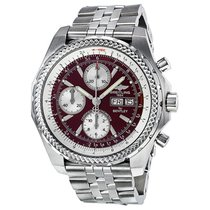 Breitling Breitling Bentley Burgundy Dial A13362 Steel 2004 Bentley GT 45mm pre-owned United States of America, New Jersey, Edgewater