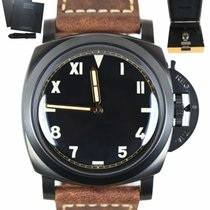 Panerai Special Editions pre-owned 47mm Black Leather