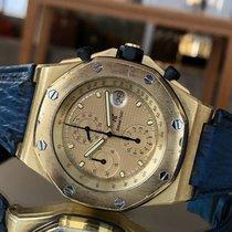 Audemars Piguet Gelbgold Automatik Gold Keine Ziffern 42mm gebraucht Royal Oak Offshore Chronograph